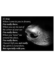 Dog I'm Really There 24x16 Poster front