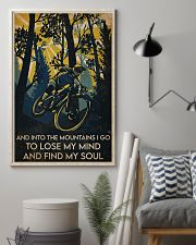Cycling Find My Soul 16x24 Poster lifestyle-poster-1