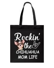 chihuahua mom life Tote Bag thumbnail