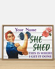 Fitness She Shed 36x24 Poster poster-landscape-36x24-lifestyle-03