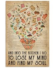 Baking Find My Soul 16x24 Poster front