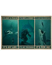 Scuba It's My Life 36x24 Poster front