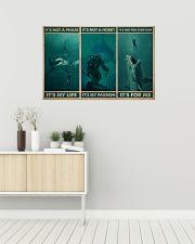 Scuba It's My Life 36x24 Poster poster-landscape-36x24-lifestyle-01