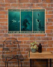 Scuba It's My Life 36x24 Poster poster-landscape-36x24-lifestyle-20