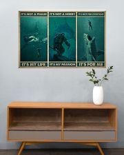 Scuba It's My Life 36x24 Poster poster-landscape-36x24-lifestyle-21