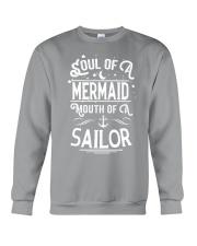 Mermaid Soul Of A Mermaid Crewneck Sweatshirt thumbnail