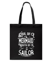 Mermaid Soul Of A Mermaid Tote Bag thumbnail