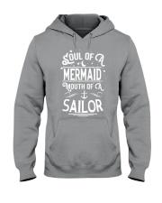 Mermaid Soul Of A Mermaid Hooded Sweatshirt tile