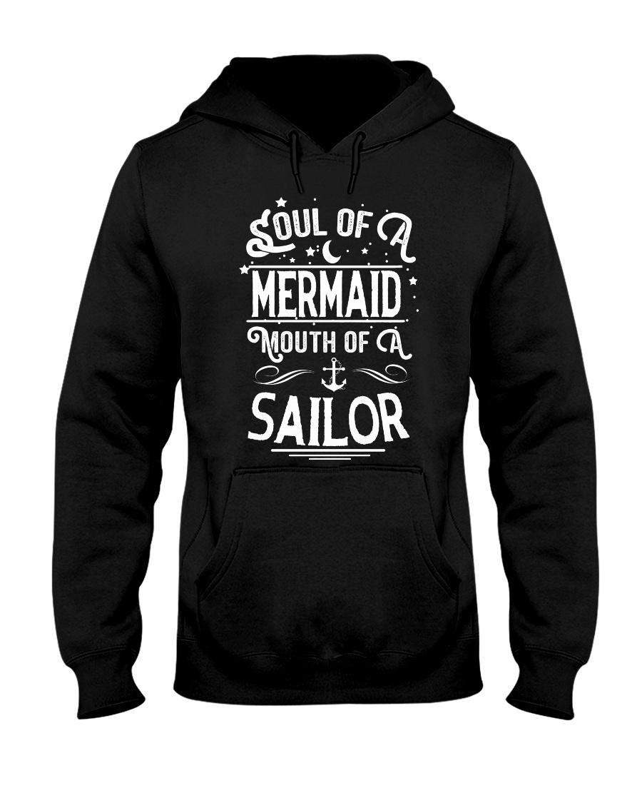 Mermaid Soul Of A Mermaid Hooded Sweatshirt