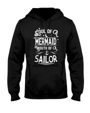 Mermaid Soul Of A Mermaid Hooded Sweatshirt front