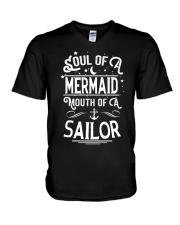 Mermaid Soul Of A Mermaid V-Neck T-Shirt thumbnail