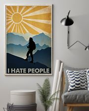 Hiking I Hate People 16x24 Poster lifestyle-poster-1