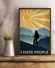 Hiking I Hate People 16x24 Poster lifestyle-poster-3