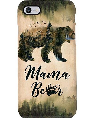 Camping Mama bear