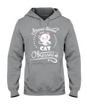 cat obsessed Hooded Sweatshirt thumbnail