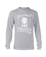 cat obsessed Long Sleeve Tee thumbnail