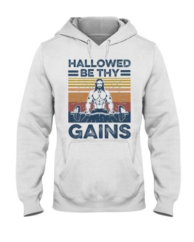 Gym Hallowed Be Thy Gains