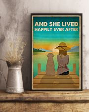 Dog Golden Happily Ever After 16x24 Poster lifestyle-poster-3