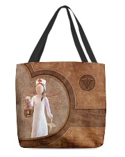 Nurse Girl Print All-over Tote back