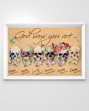 Skull God Says You Are 36x24 Poster poster-landscape-36x24-lifestyle-02