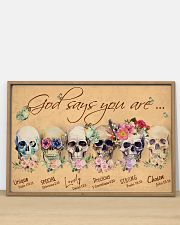 Skull God Says You Are 36x24 Poster poster-landscape-36x24-lifestyle-03