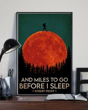 Hiking And Miles To Go Before I Sleep 16x24 Poster lifestyle-poster-2