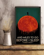 Hiking And Miles To Go Before I Sleep 16x24 Poster lifestyle-poster-3