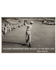 Golf The Most Important shot In Golf 36x24 Poster front