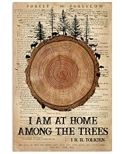 Camping I Am At Home 16x24 Poster front