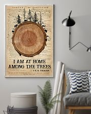 Camping I Am At Home 16x24 Poster lifestyle-poster-1