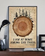 Camping I Am At Home 16x24 Poster lifestyle-poster-2