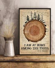 Camping I Am At Home 16x24 Poster lifestyle-poster-3