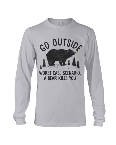 Camping Bear Go Outside