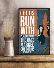 Running Let Us Run 16x24 Poster lifestyle-poster-3
