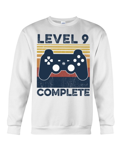 Game Level 9 Complete