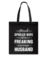 Proud Spoiled Wife Tote Bag thumbnail