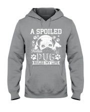 Pug  Hooded Sweatshirt thumbnail