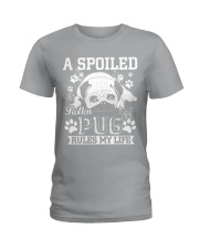 Pug  Ladies T-Shirt thumbnail