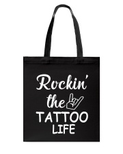 tattoo life Tote Bag thumbnail