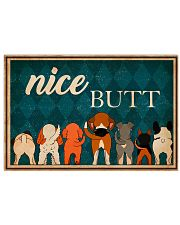 Dog Nice Butt 36x24 Poster front