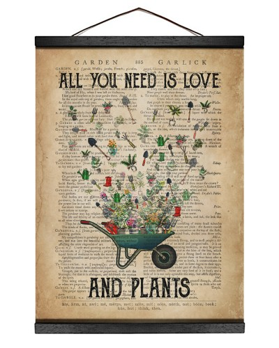 Garden All you Need is Love And Plants
