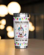 Unicorn Touch My Coffeee 20oz Tumbler aos-20oz-tumbler-lifestyle-front-04