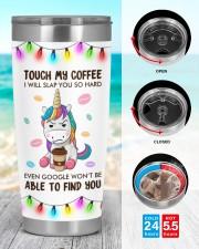 Unicorn Touch My Coffeee 20oz Tumbler aos-20oz-tumbler-lifestyle-front-44