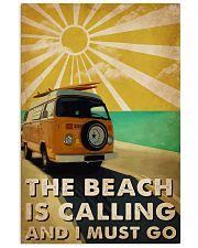 Ocean The Beach Is Calling 16x24 Poster front