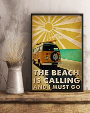 Ocean The Beach Is Calling 16x24 Poster lifestyle-poster-3
