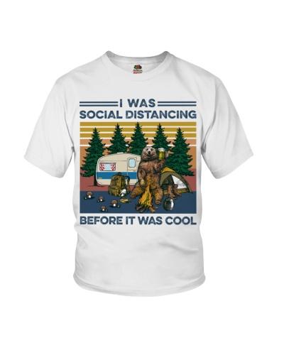 Camping I Was Social Distancing