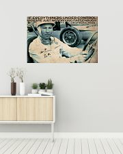 Racing Everything Is Under Control 36x24 Poster poster-landscape-36x24-lifestyle-01