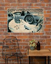 Racing Everything Is Under Control 36x24 Poster poster-landscape-36x24-lifestyle-20