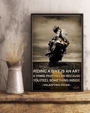 Biker Riding A Bike Is An Art 16x24 Poster lifestyle-poster-3