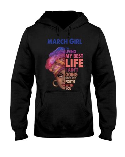 Black Woman March Girl